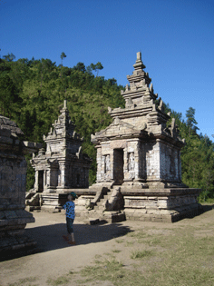 One of the nine temples of Gedong Songo